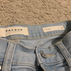 "pacsun ""the shortie"" shorts"